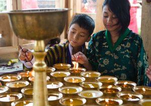 Butterlamps-Bhutan